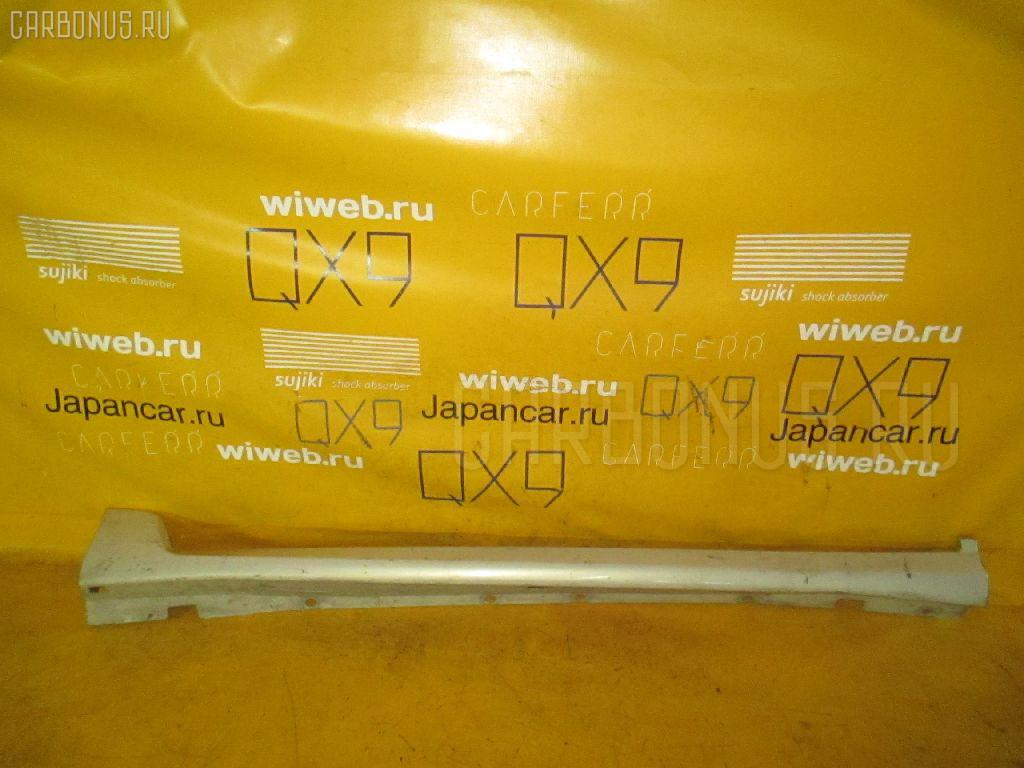 Порог кузова пластиковый ( обвес ) TOYOTA HARRIER MCU10W. Фото 1