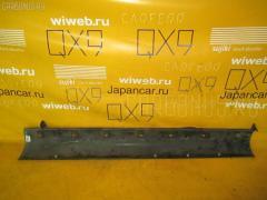 Порог кузова пластиковый ( обвес ) Suzuki Sx-4 YA11S Фото 2
