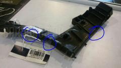 Крепление бампера на Suzuki Sx-4 YA11S Фото 3