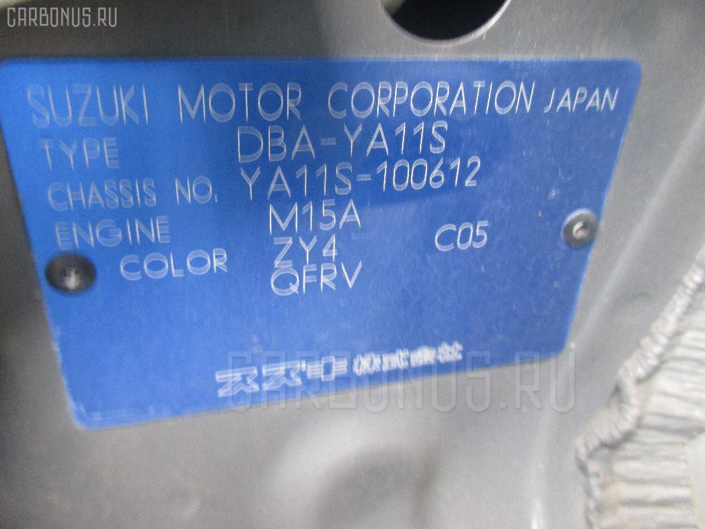 Ручка КПП SUZUKI SX-4 YA11S Фото 2