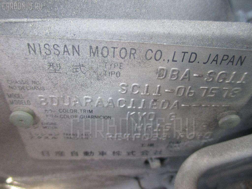 Тросик багажника NISSAN TIIDA LATIO SC11 Фото 2
