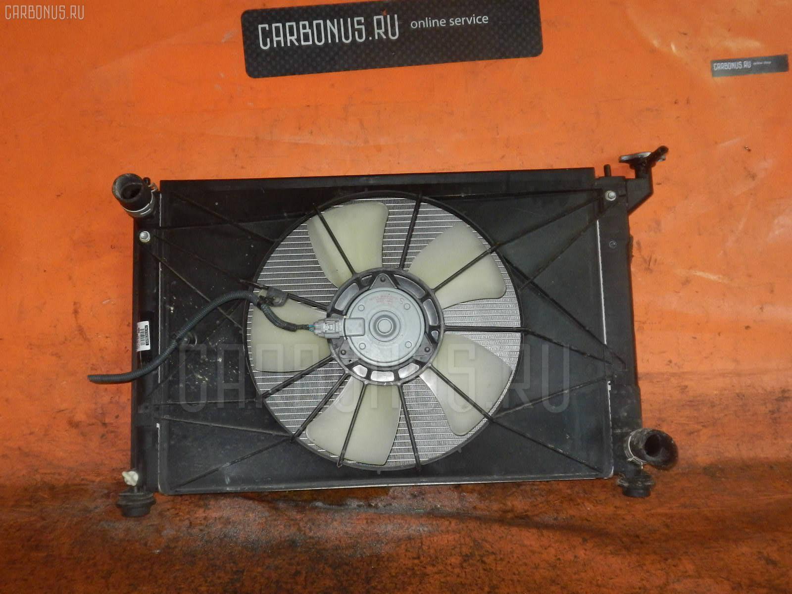 Радиатор ДВС TOYOTA WISH ZNE10G 1ZZ-FE Фото 2