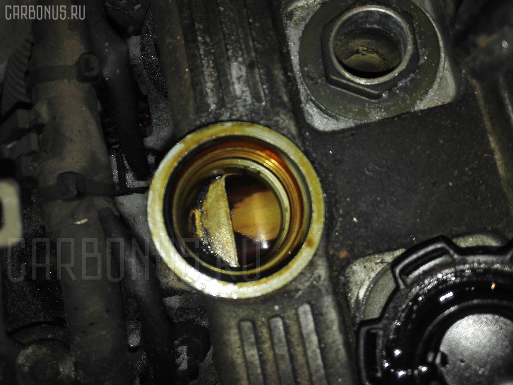 Двигатель TOYOTA CALDINA ST195G 3S-FE. Фото 1