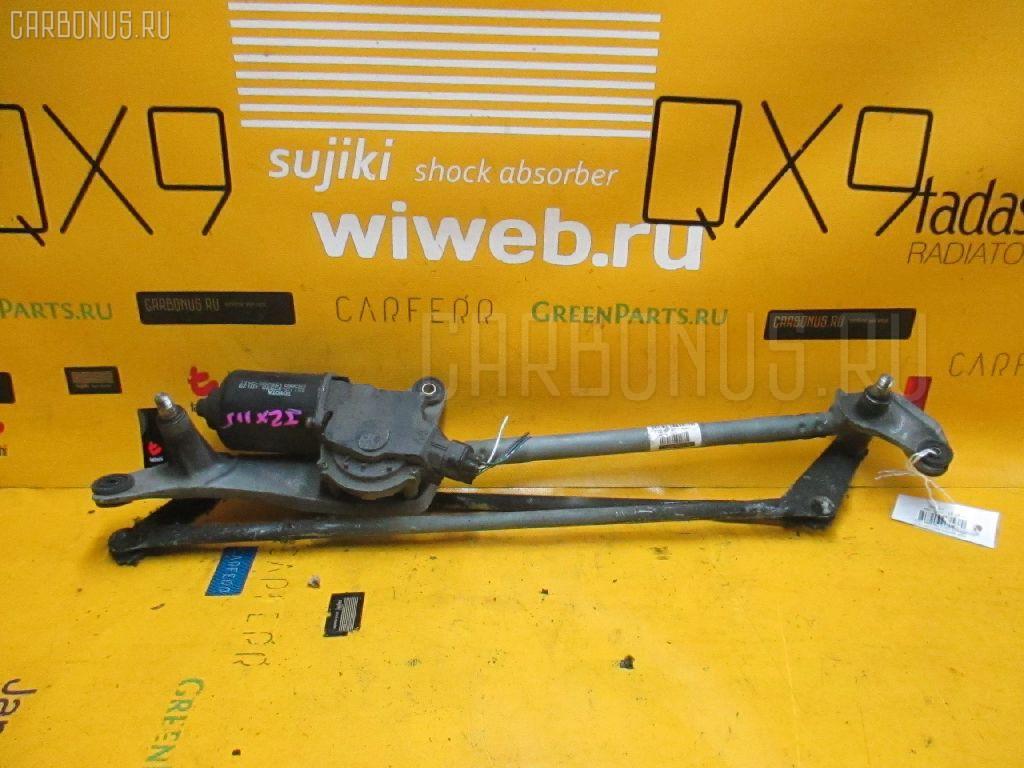 Мотор привода дворников TOYOTA MARK II JZX115. Фото 1