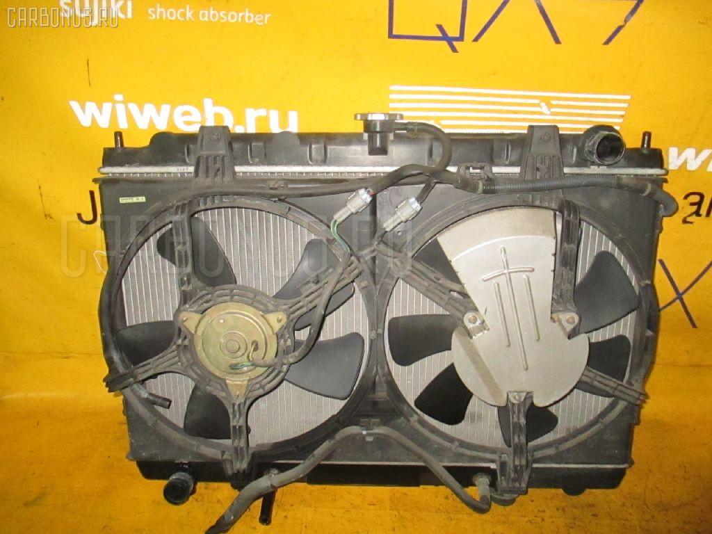 Радиатор ДВС NISSAN AVENIR PNW11 SR20DE. Фото 8