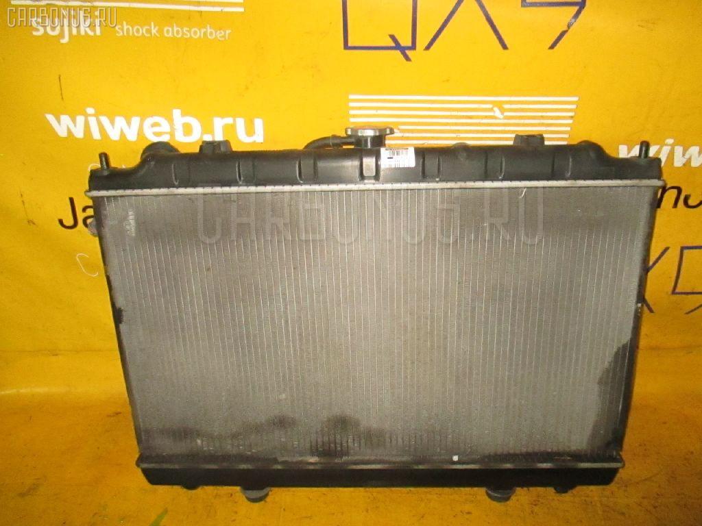 Радиатор ДВС NISSAN AVENIR PNW11 SR20DE. Фото 9