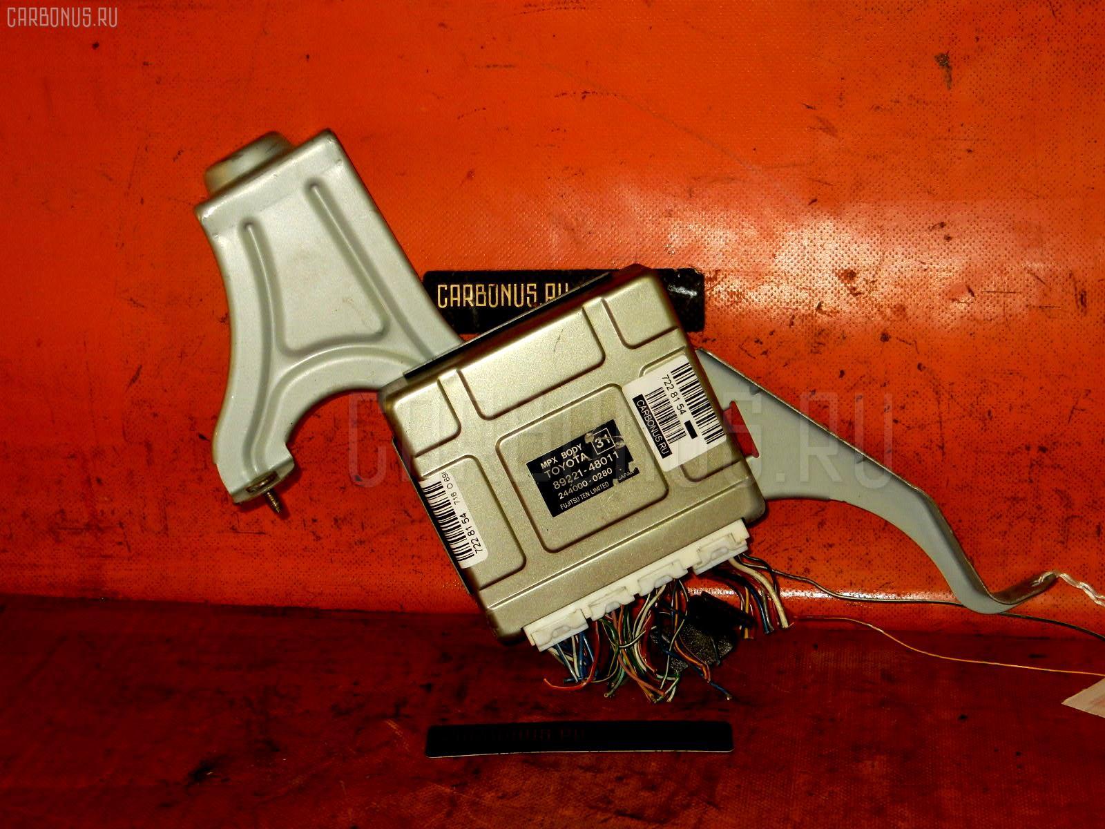 Блок упр-я TOYOTA HARRIER ACU15W 2AZ-FE Фото 1