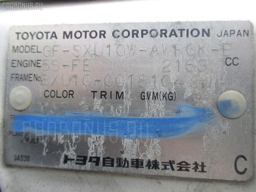 Крепление аккумулятора TOYOTA HARRIER SXU10W Фото 2