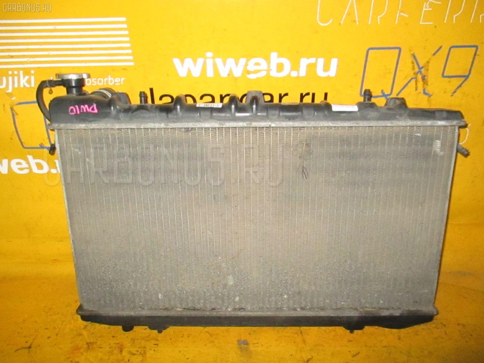 Радиатор ДВС NISSAN AVENIR PW10 SR20DE. Фото 3