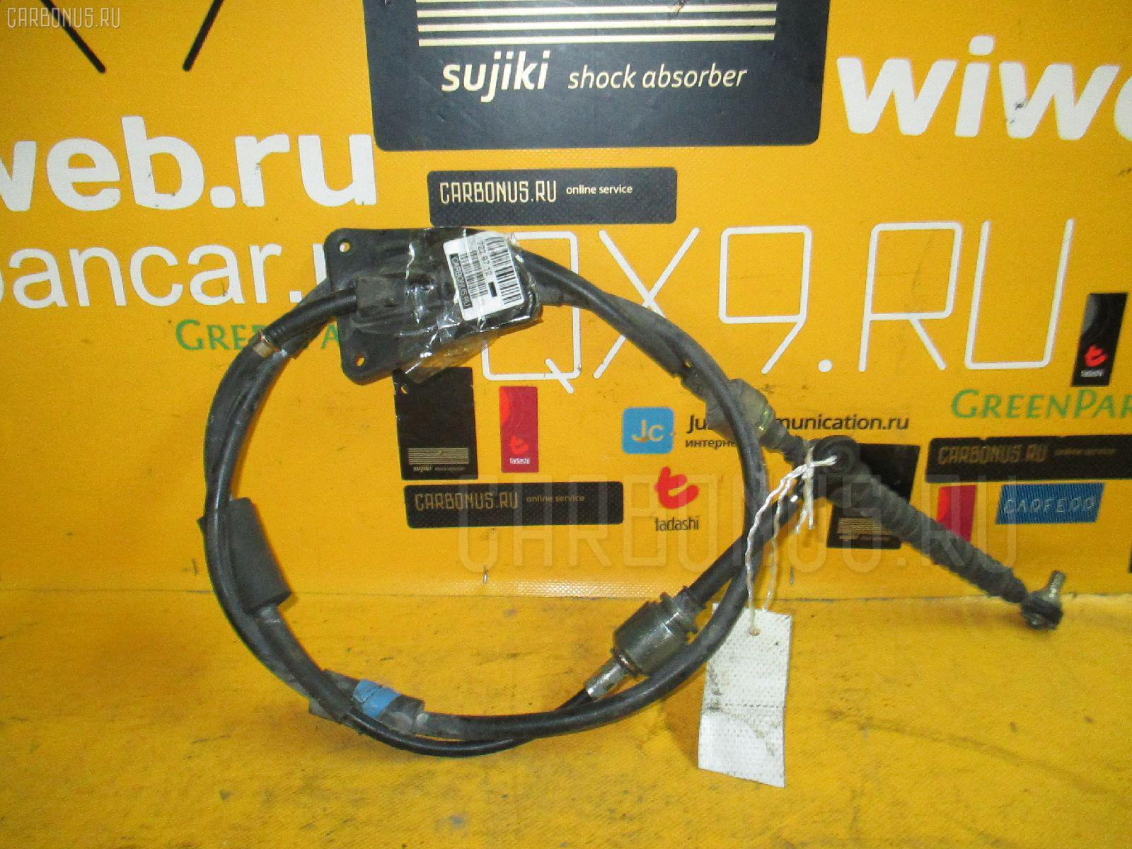 Тросик на коробку передач TOYOTA HARRIER SXU10W 5S-FE. Фото 3