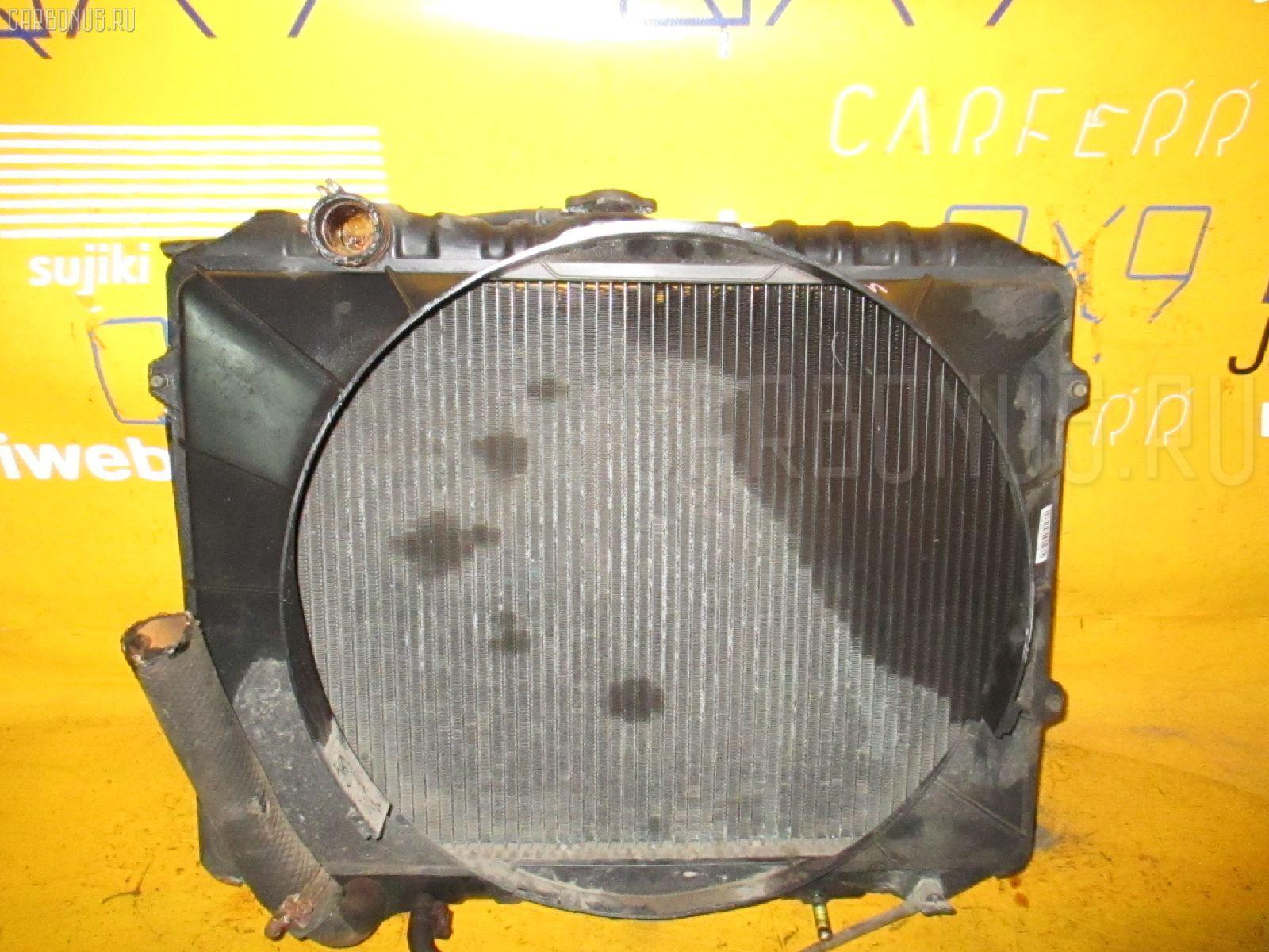 Радиатор ДВС MITSUBISHI PAJERO V43W 6G72. Фото 8