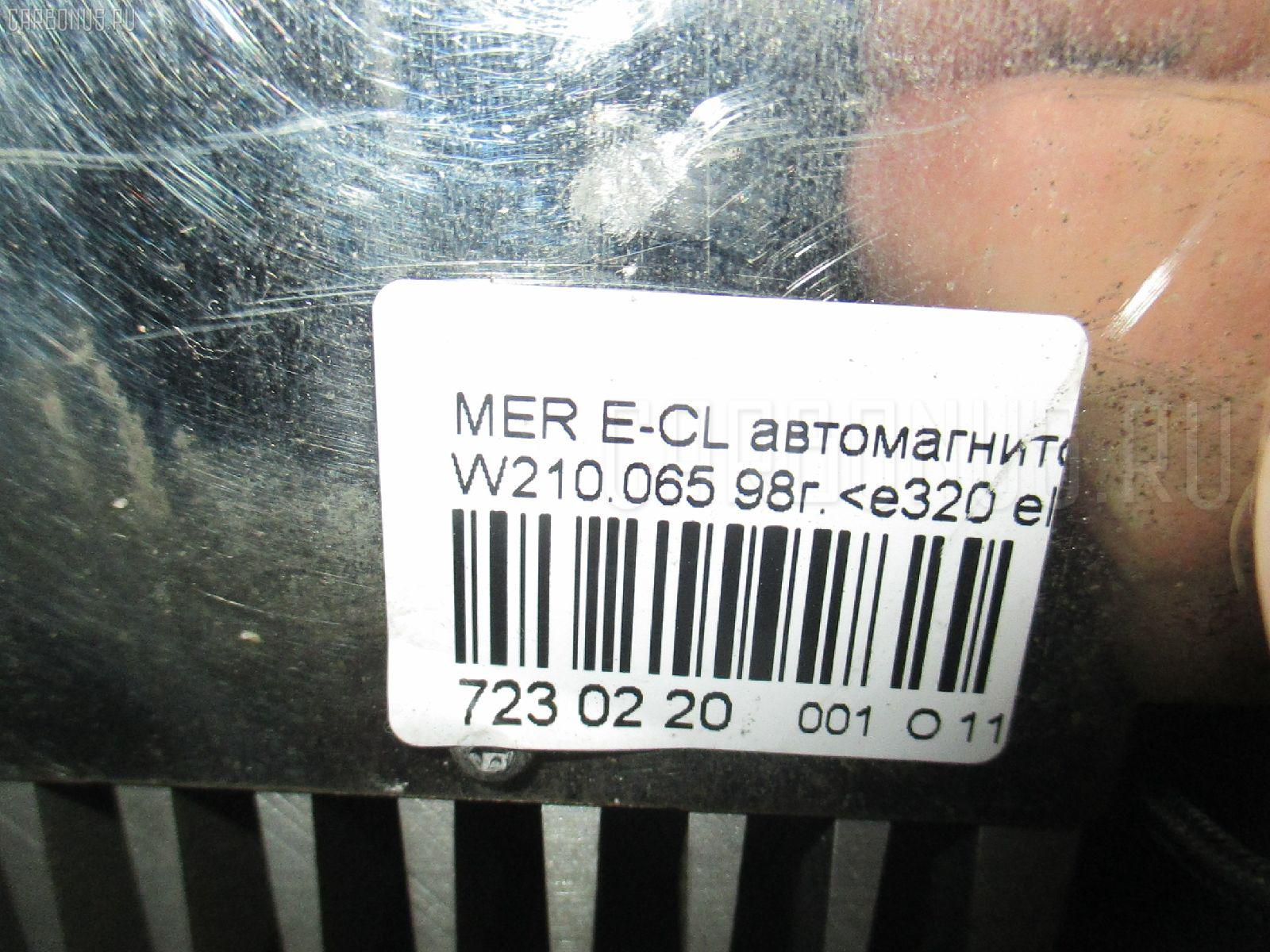 Автомагнитофон MERCEDES-BENZ E-CLASS W210.065 Фото 4