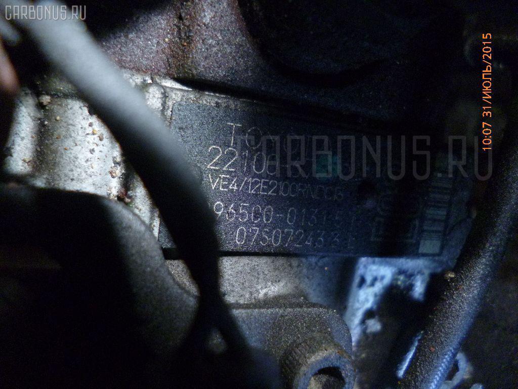 Двигатель TOYOTA HIACE KZH106G 1KZ-TE Фото 7