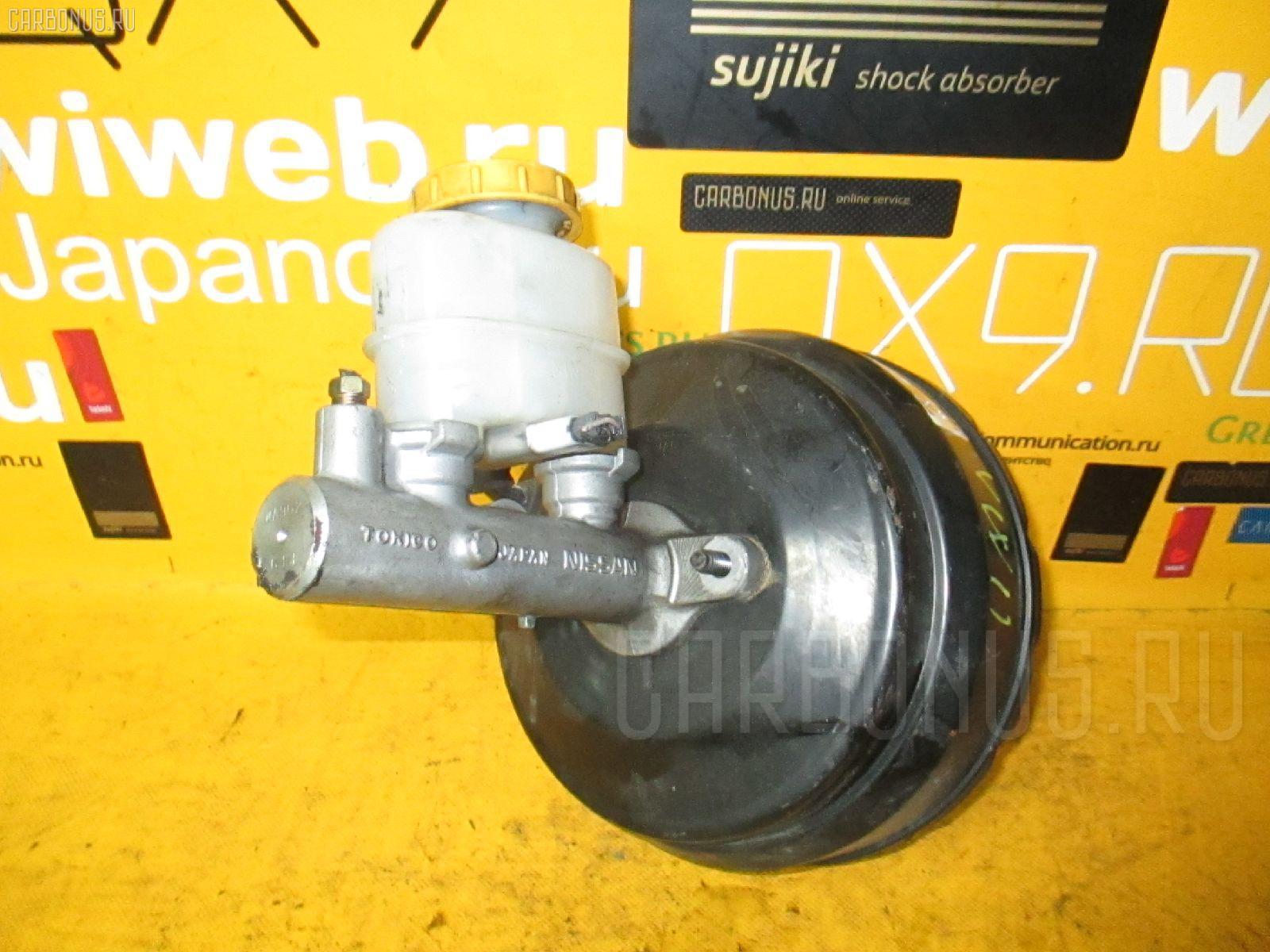 Главный тормозной цилиндр NISSAN EXPERT VW11 QG18DE. Фото 9
