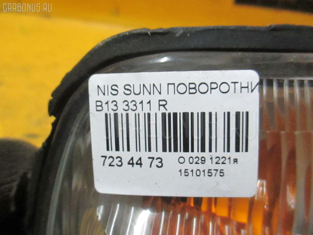 Поворотник к фаре NISSAN SUNNY B13 Фото 3