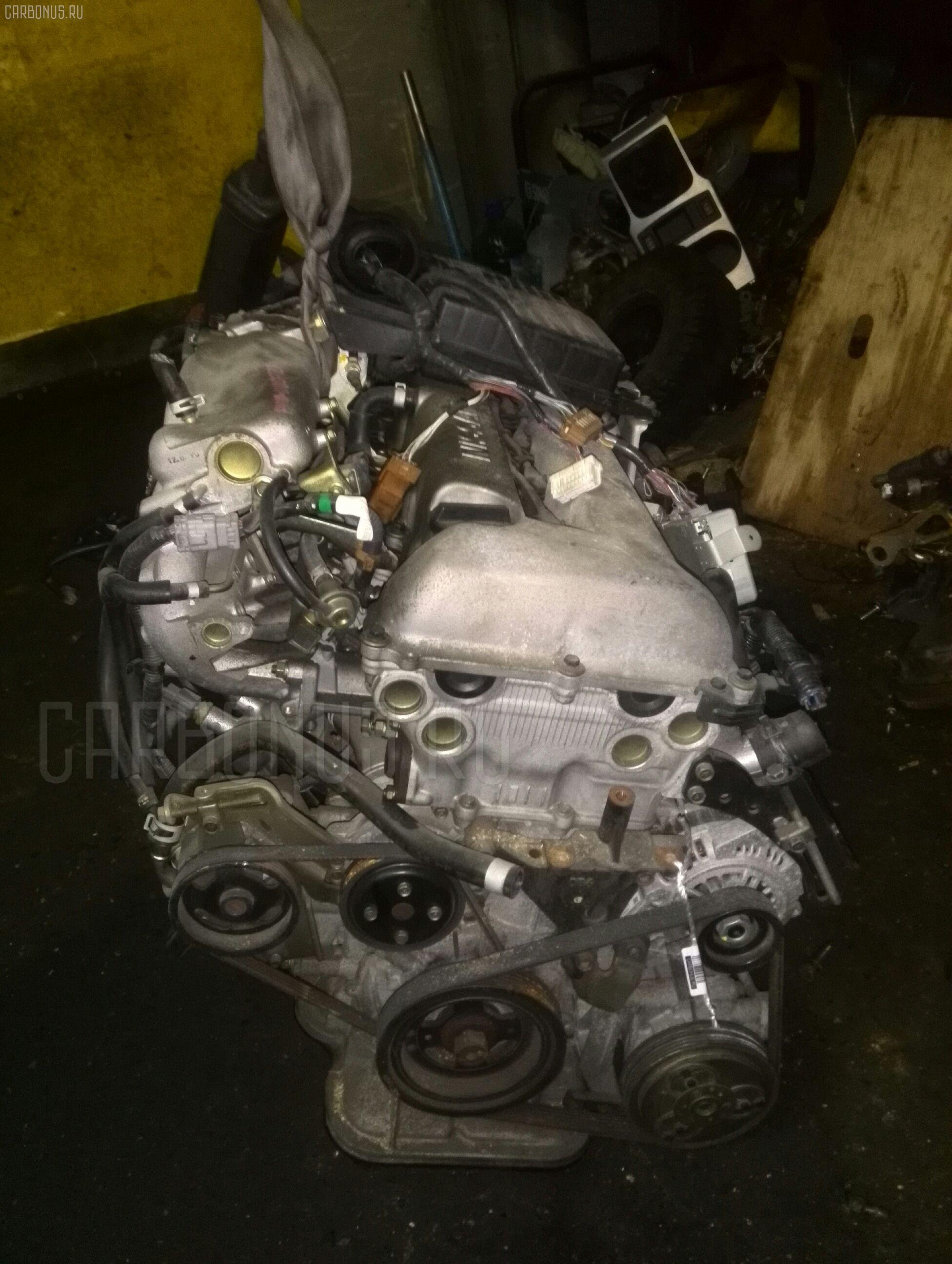 Двигатель NISSAN TINO HV10 SR20DE. Фото 5