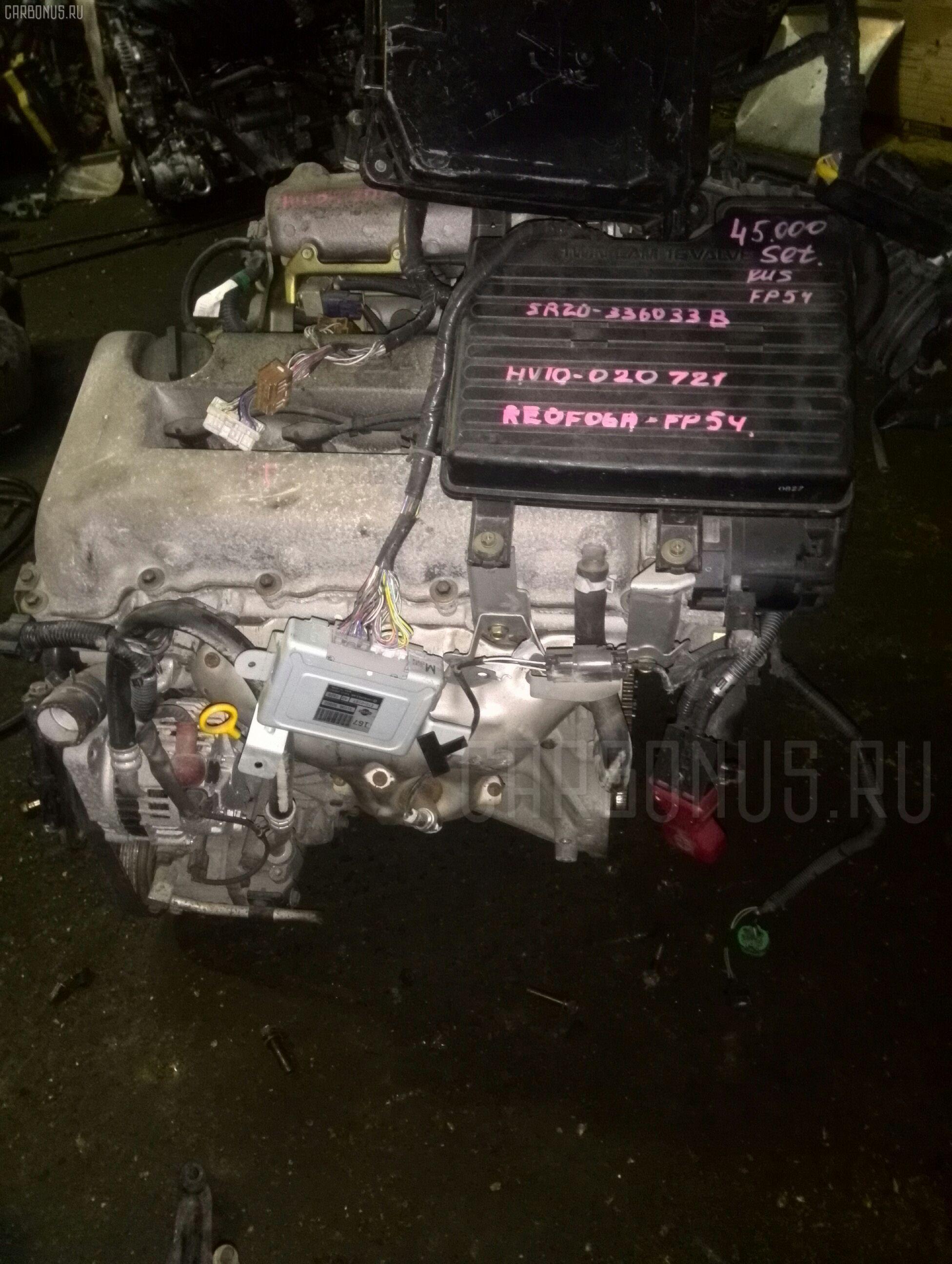Двигатель NISSAN TINO HV10 SR20DE. Фото 3