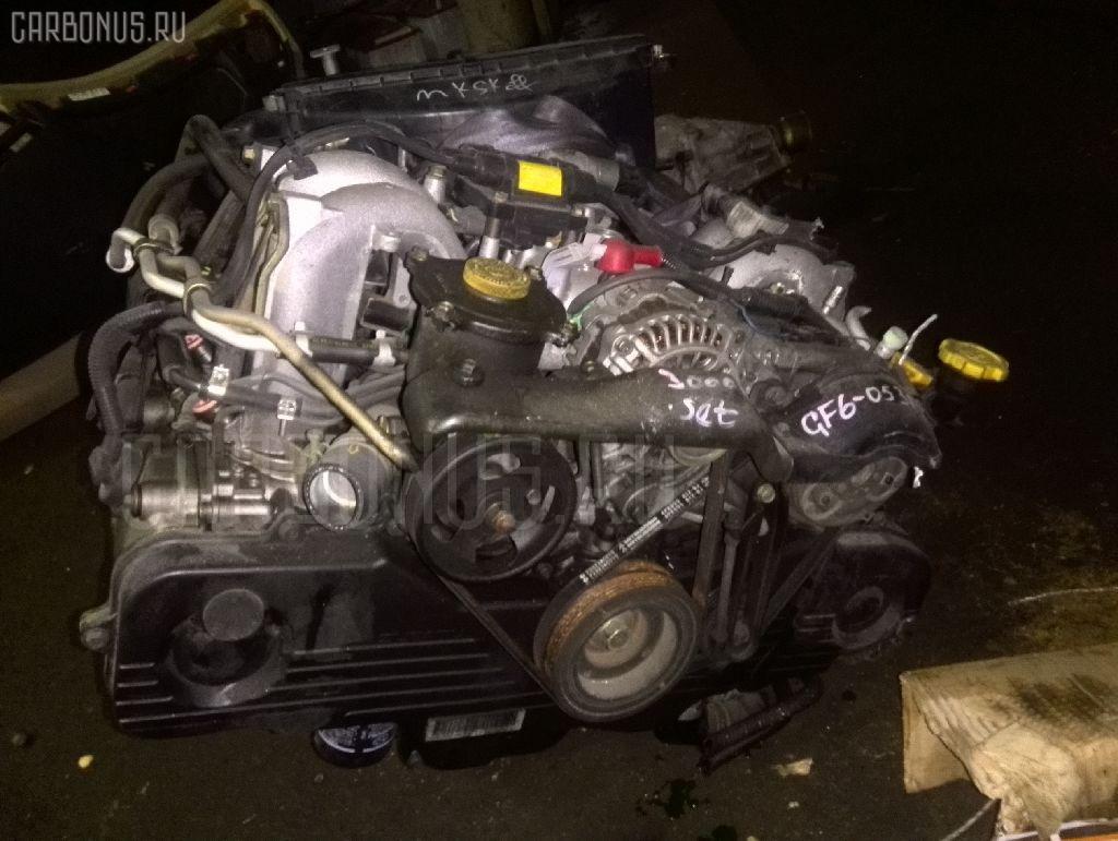 Двигатель SUBARU IMPREZA WAGON GF6 EJ18DXZVE. Фото 2