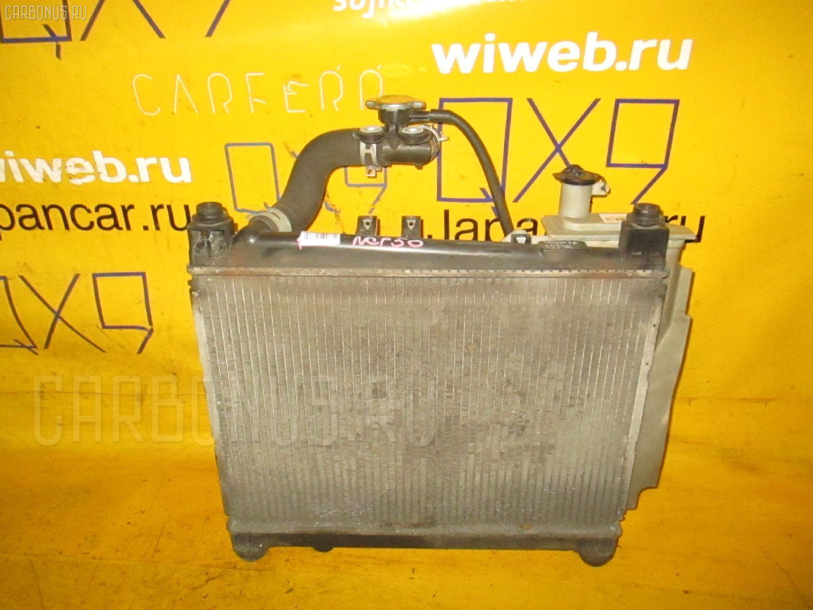 Радиатор ДВС TOYOTA PROBOX NCP50V 1NZ-FE. Фото 1