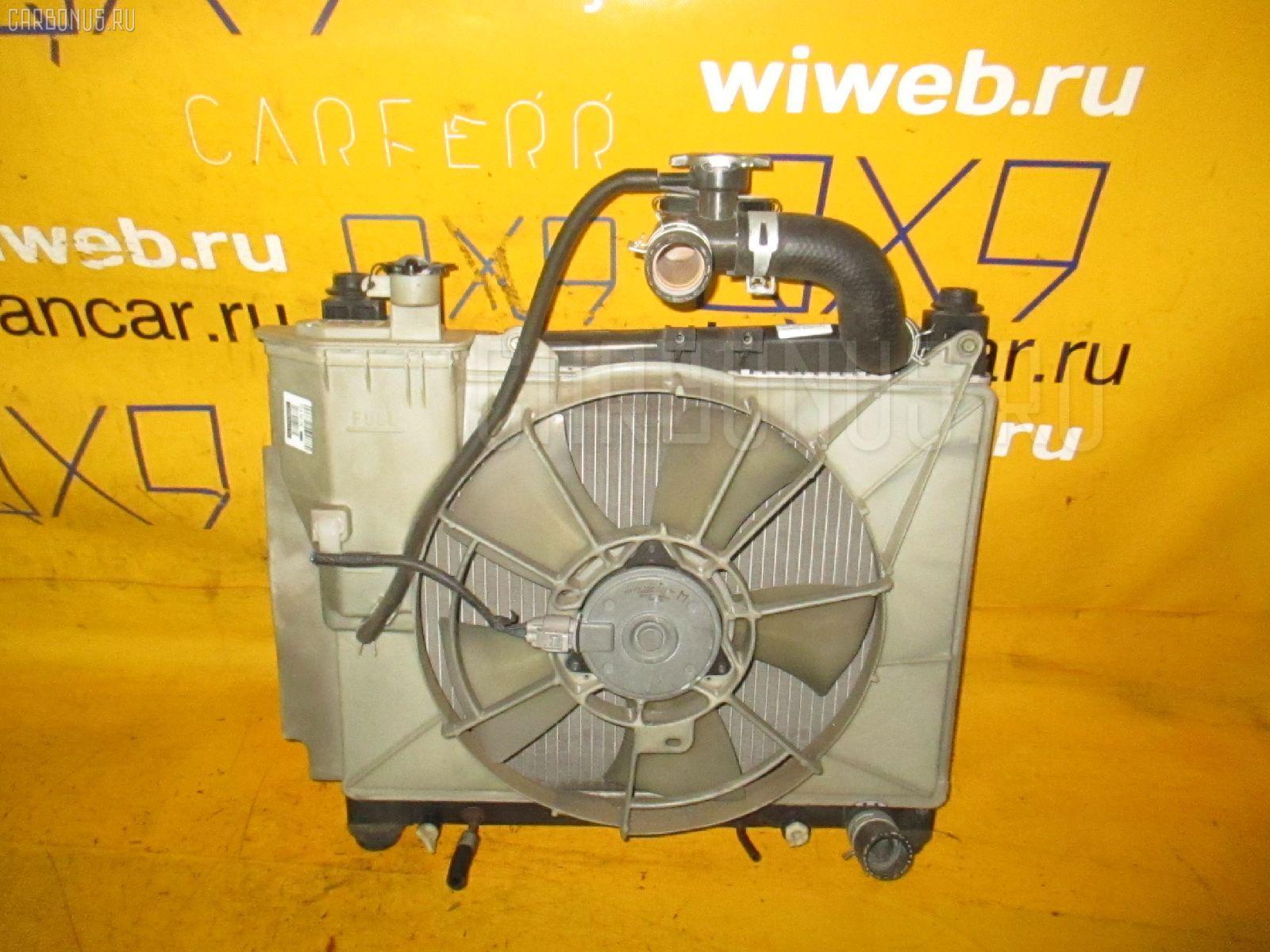 Радиатор ДВС TOYOTA PROBOX NCP50V 1NZ-FE. Фото 2