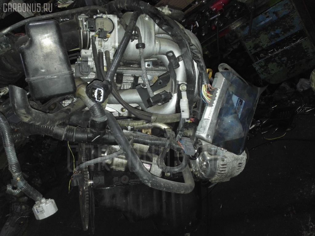 Двигатель TOYOTA COROLLA WAGON EE102V 4E-FE. Фото 1