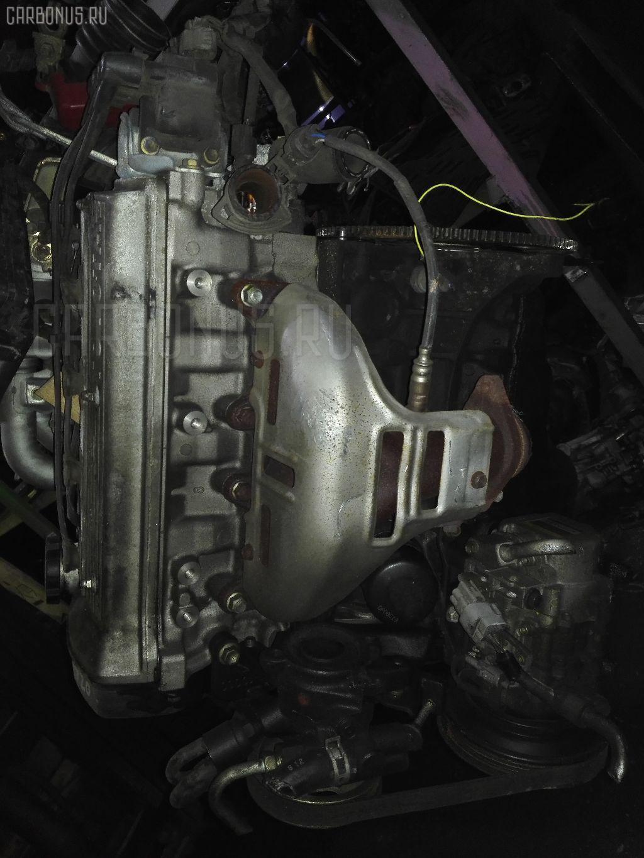 Двигатель TOYOTA COROLLA WAGON EE102V 4E-FE. Фото 3