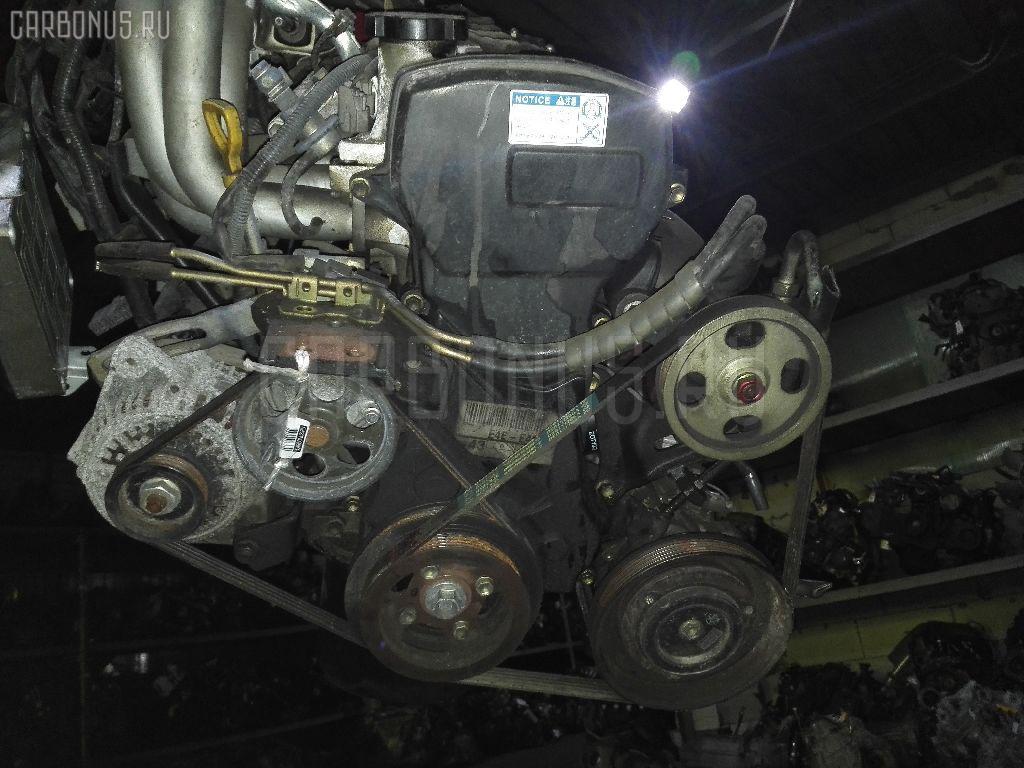 Двигатель TOYOTA COROLLA WAGON EE102V 4E-FE. Фото 4
