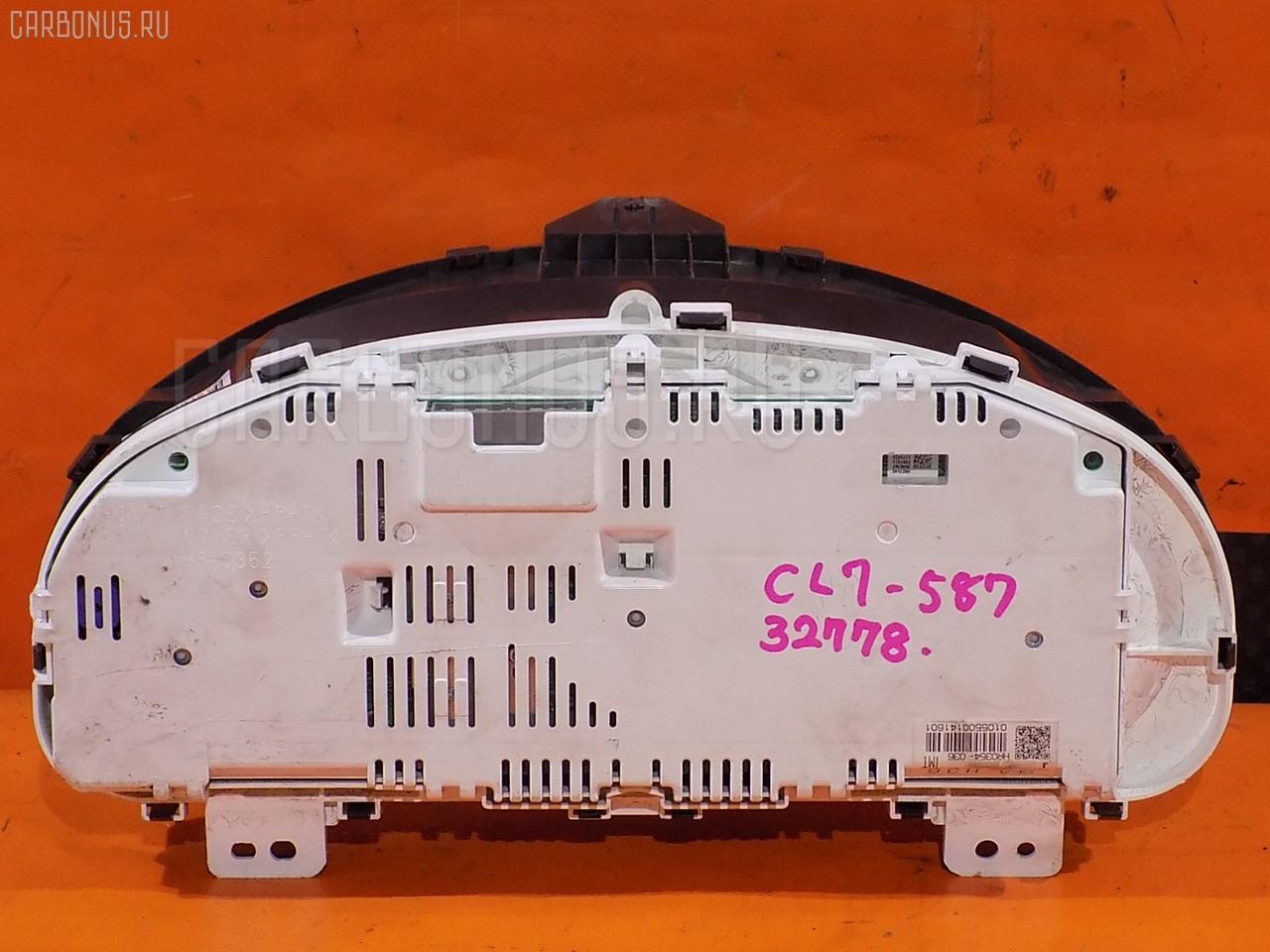 Спидометр HONDA ACCORD CL7 K20A. Фото 8