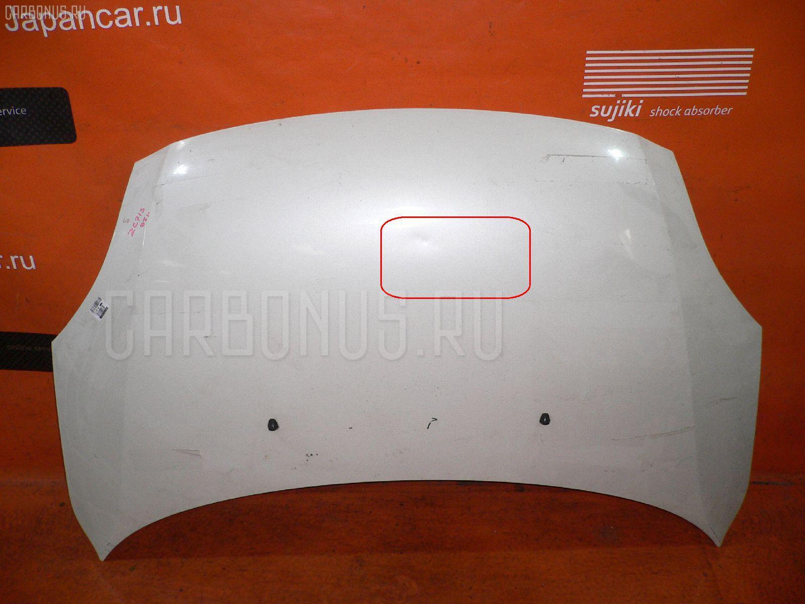Капот SUZUKI SWIFT ZC71S. Фото 4