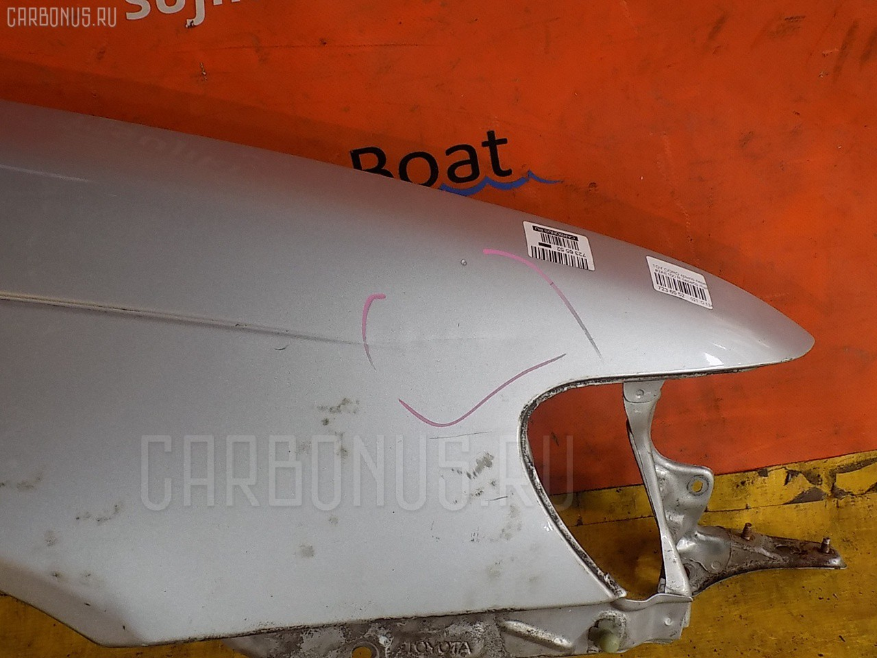 Крыло переднее TOYOTA SPRINTER WAGON EE102V. Фото 7
