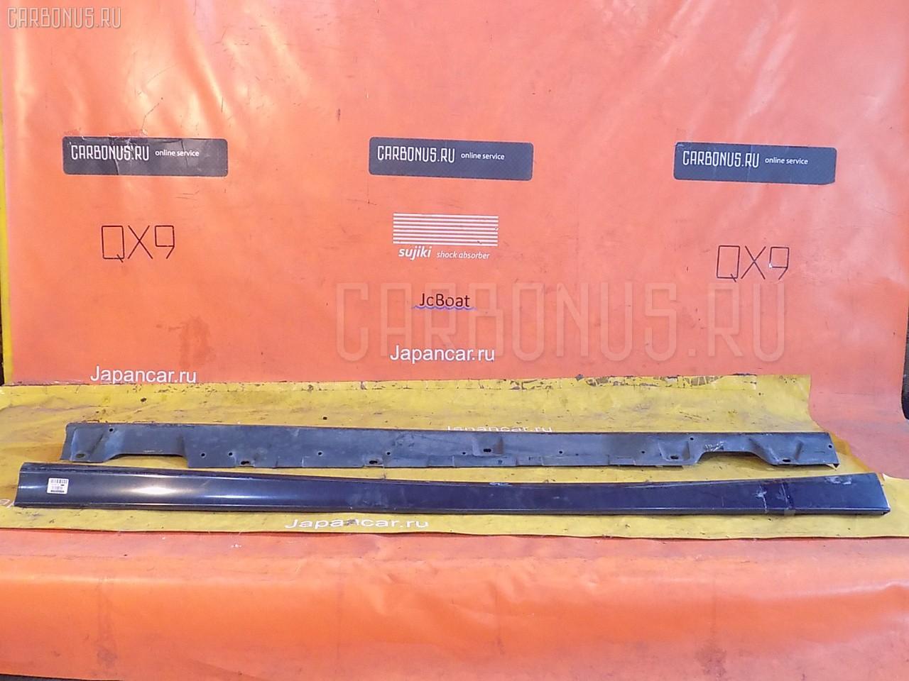 Порог кузова пластиковый ( обвес ) TOYOTA CARINA AT211. Фото 9
