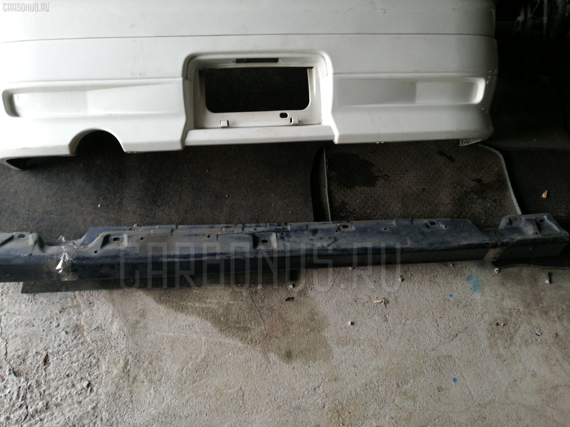 Порог кузова пластиковый ( обвес ) TOYOTA CARINA AT211. Фото 8