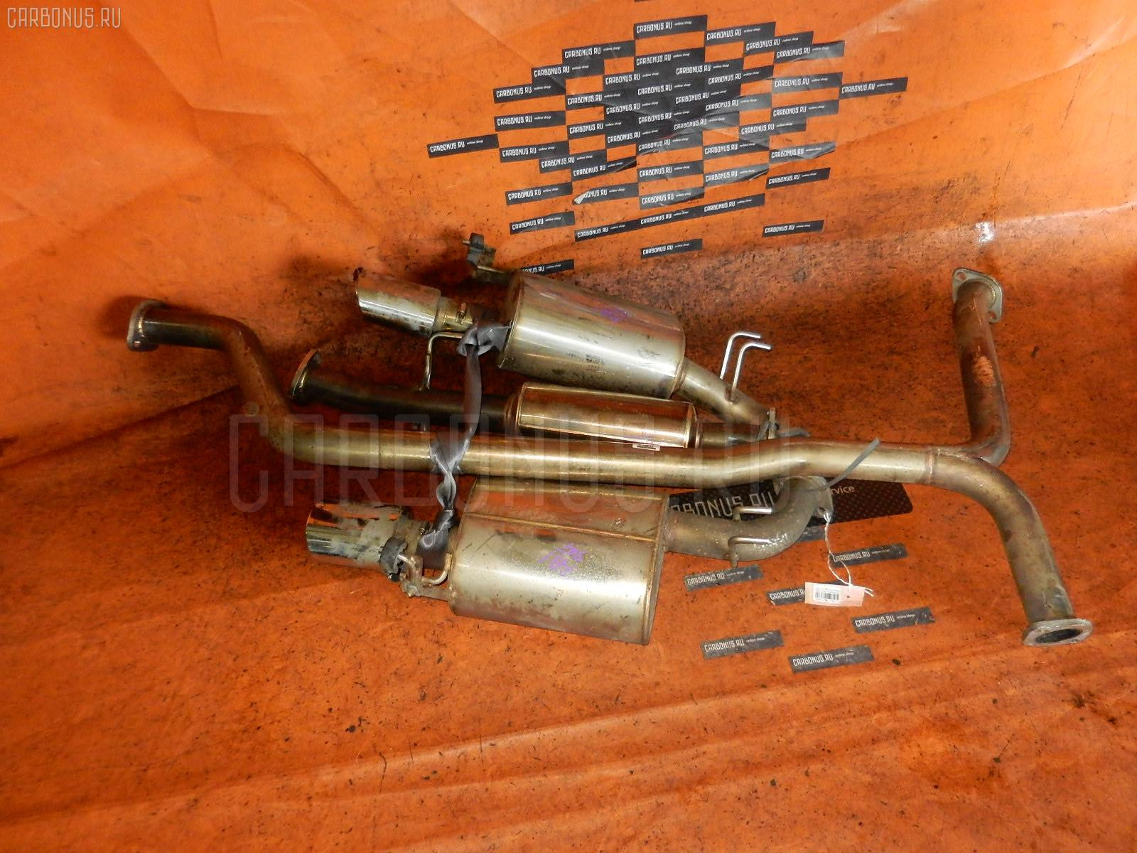 Глушитель HONDA ODYSSEY RB1 K24A. Фото 7