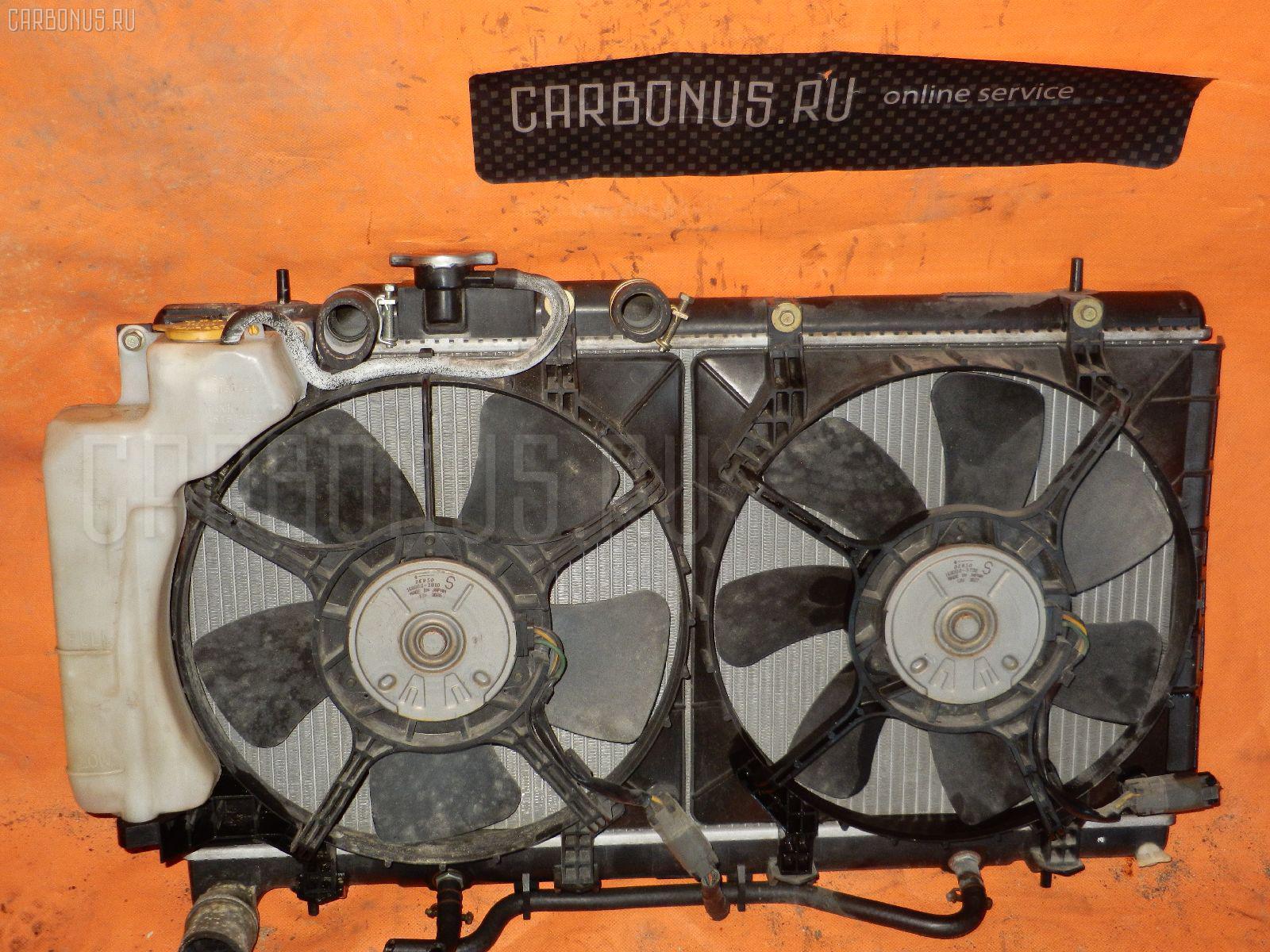 Радиатор ДВС SUBARU LEGACY B4 BEE EZ30. Фото 2