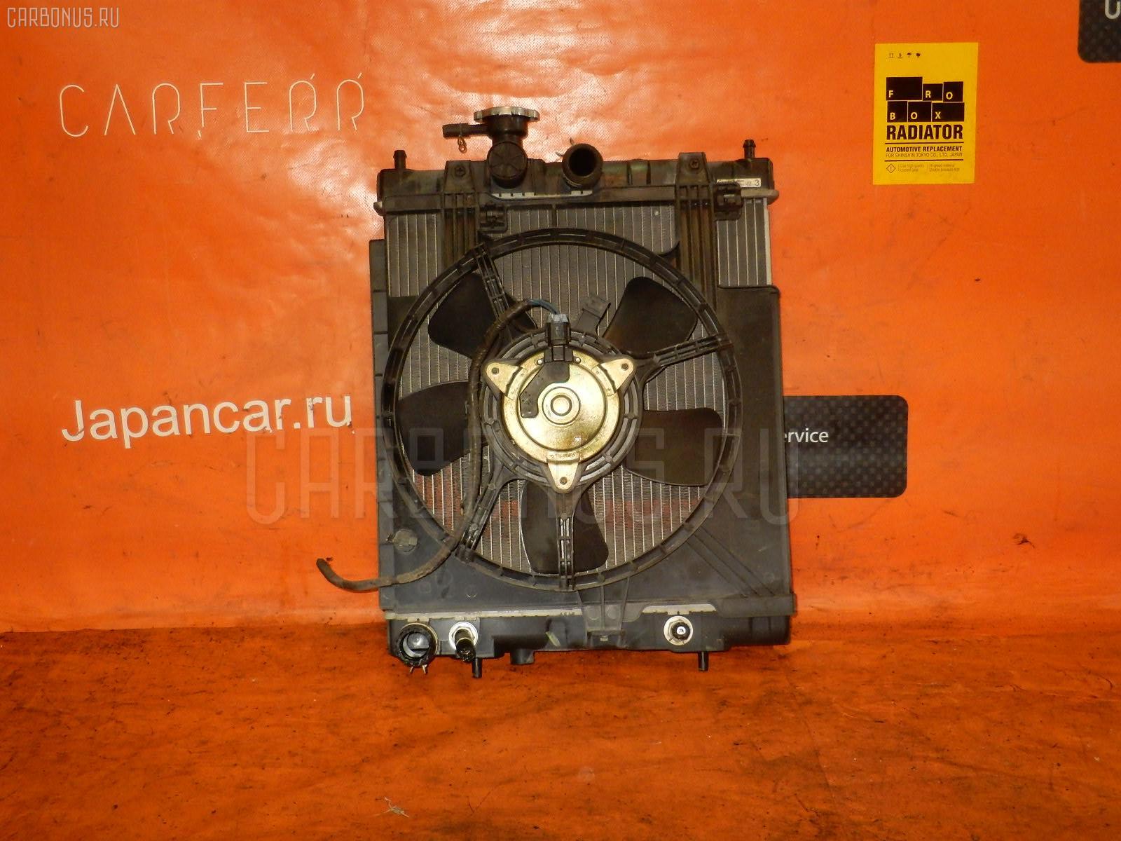 Радиатор ДВС NISSAN MARCH K11 CG10DE Фото 2