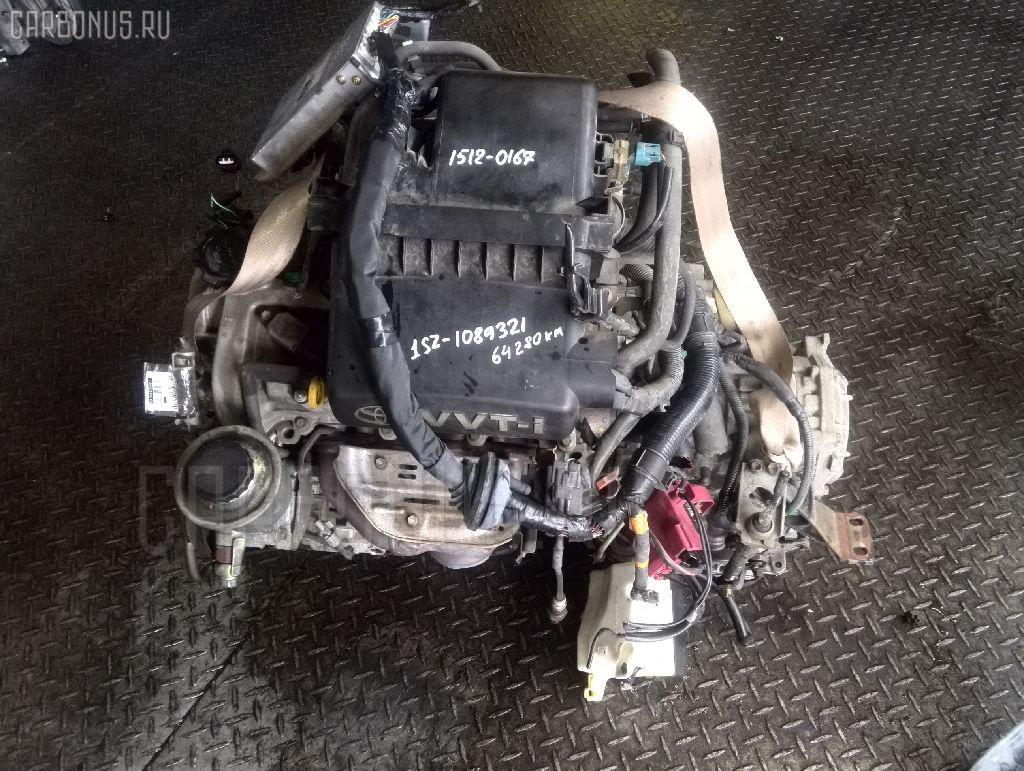 Двигатель TOYOTA PLATZ SCP11 1SZ-FE. Фото 6