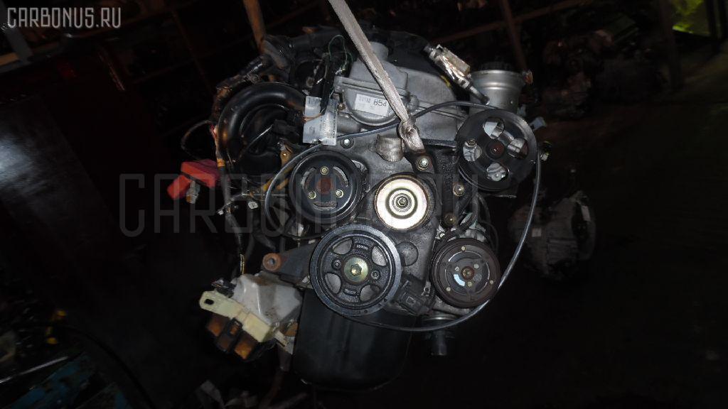 Двигатель TOYOTA PLATZ SCP11 1SZ-FE. Фото 2