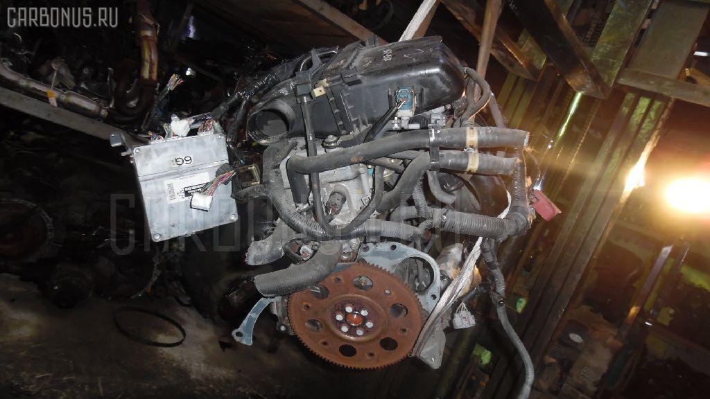 Двигатель TOYOTA PLATZ SCP11 1SZ-FE. Фото 4