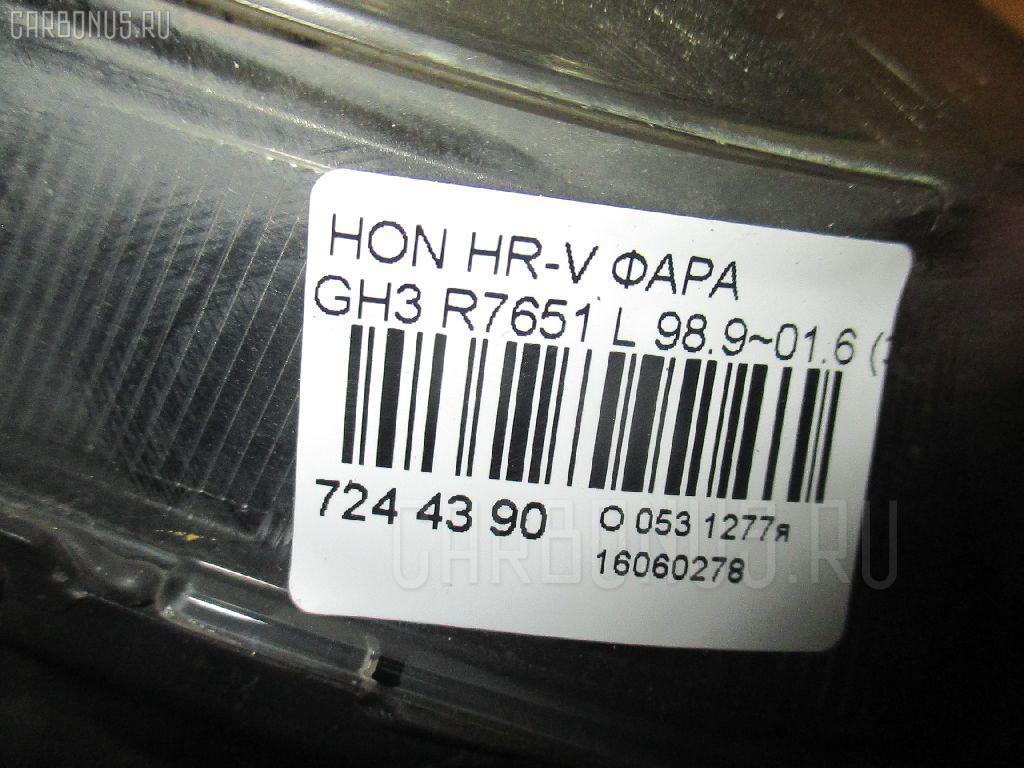 Фара HONDA HR-V GH3 Фото 3