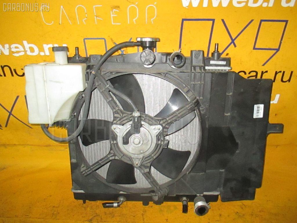 Радиатор ДВС NISSAN MARCH BK12 CR14DE. Фото 8