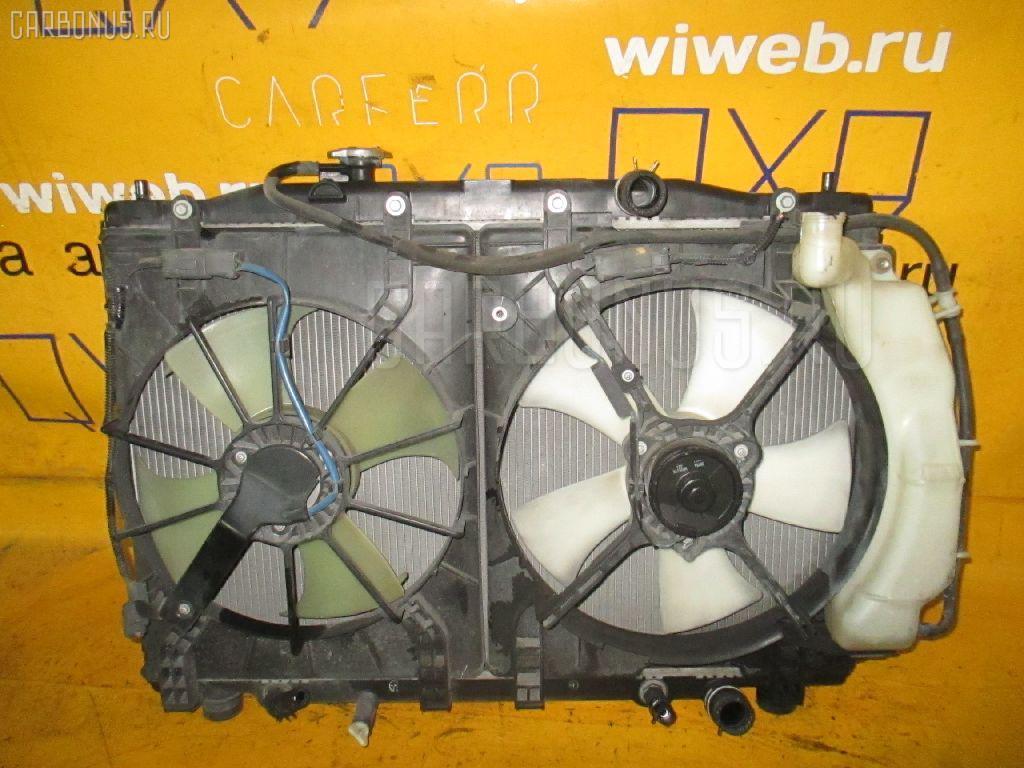 Радиатор ДВС HONDA EDIX BE1 D17A. Фото 11