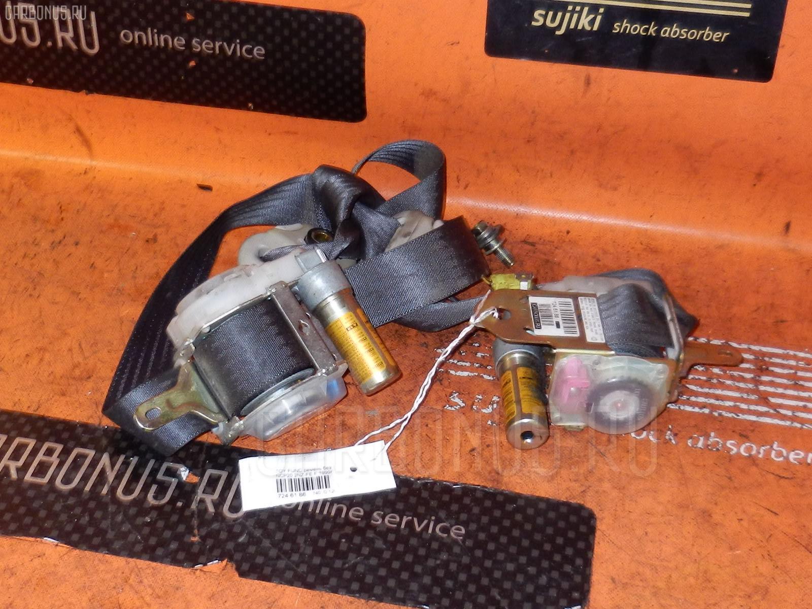 Ремень безопасности TOYOTA FUNCARGO NCP20 2NZ-FE. Фото 4