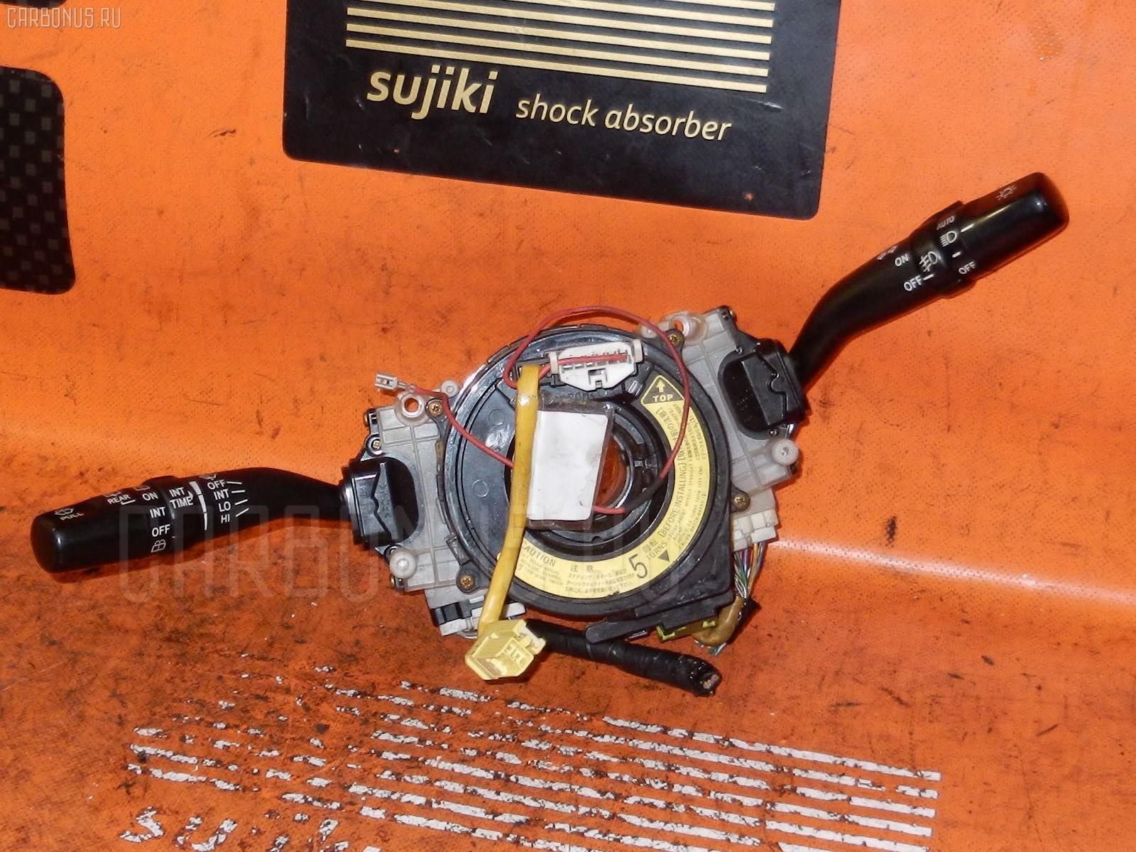 Переключатель поворотов TOYOTA MARK II JZX110. Фото 9