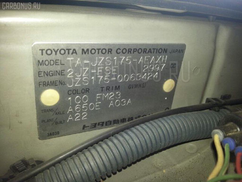 Капот TOYOTA CROWN JZS175 Фото 4