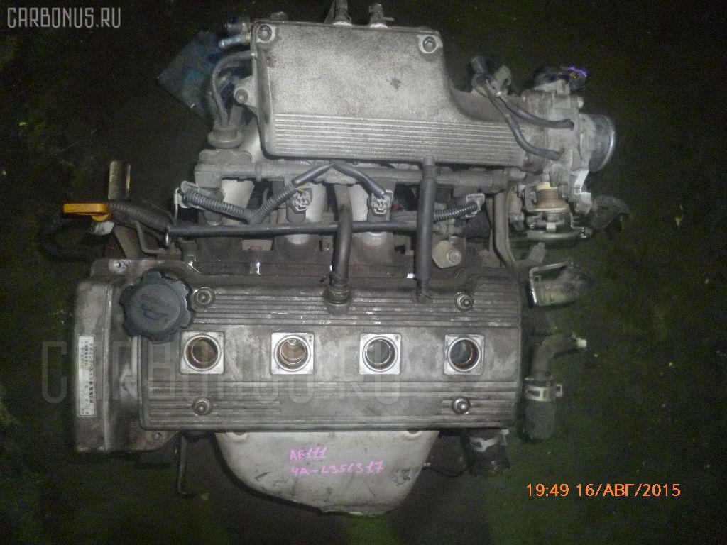 Двигатель TOYOTA SPRINTER CARIB AE111G 4A-FE. Фото 10