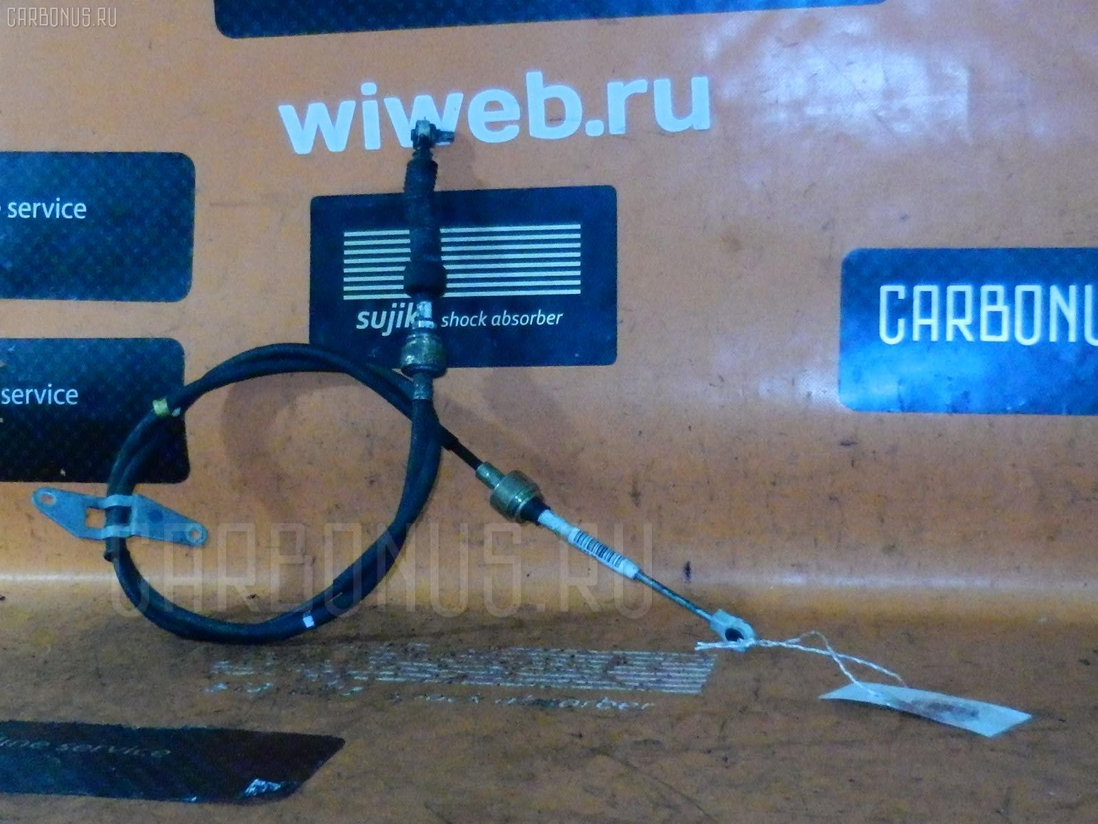 Тросик на коробку передач TOYOTA CALDINA ST210G 3S-FE. Фото 6