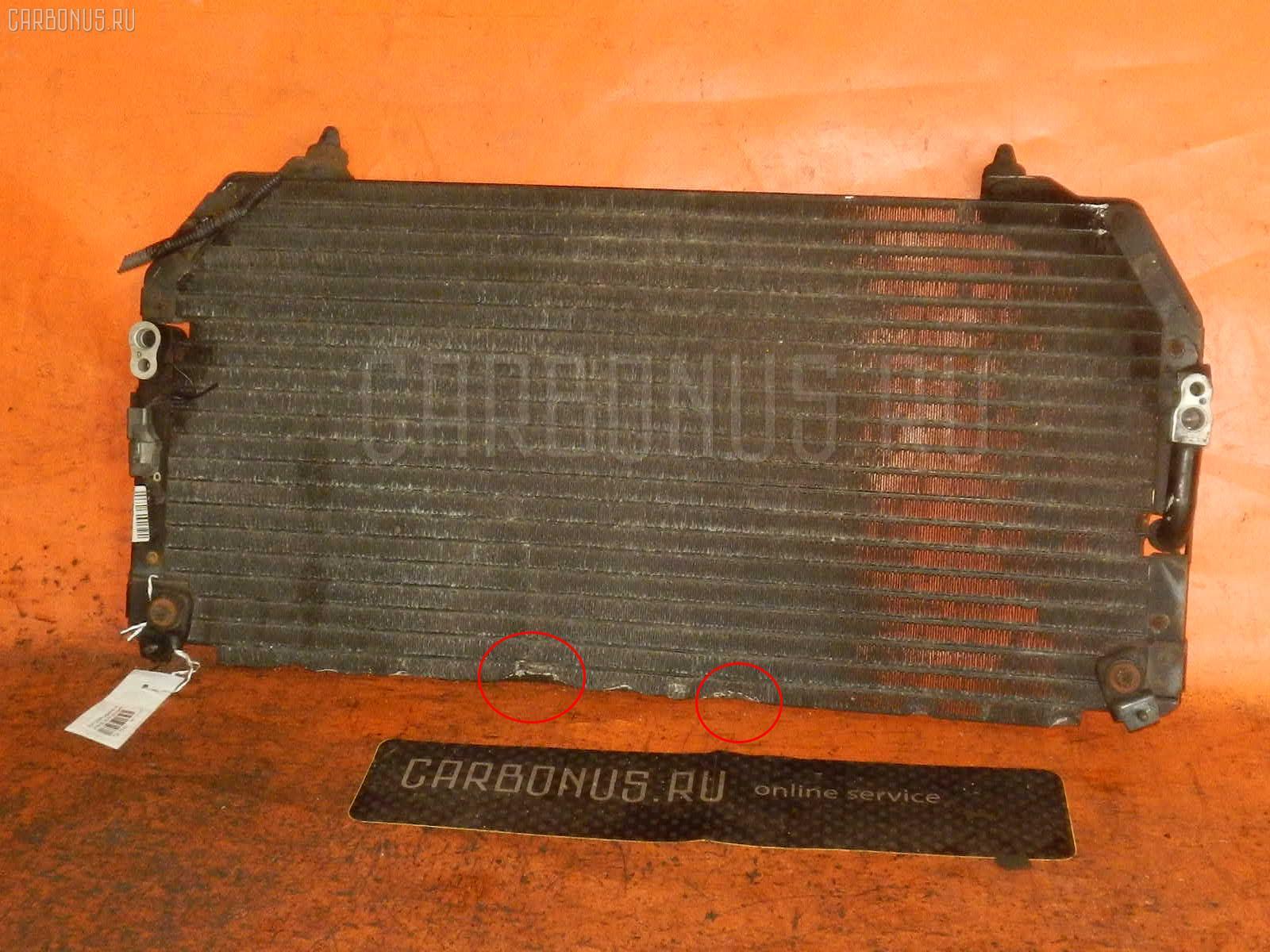 Радиатор кондиционера TOYOTA CAMRY SV32 3S-FE. Фото 3