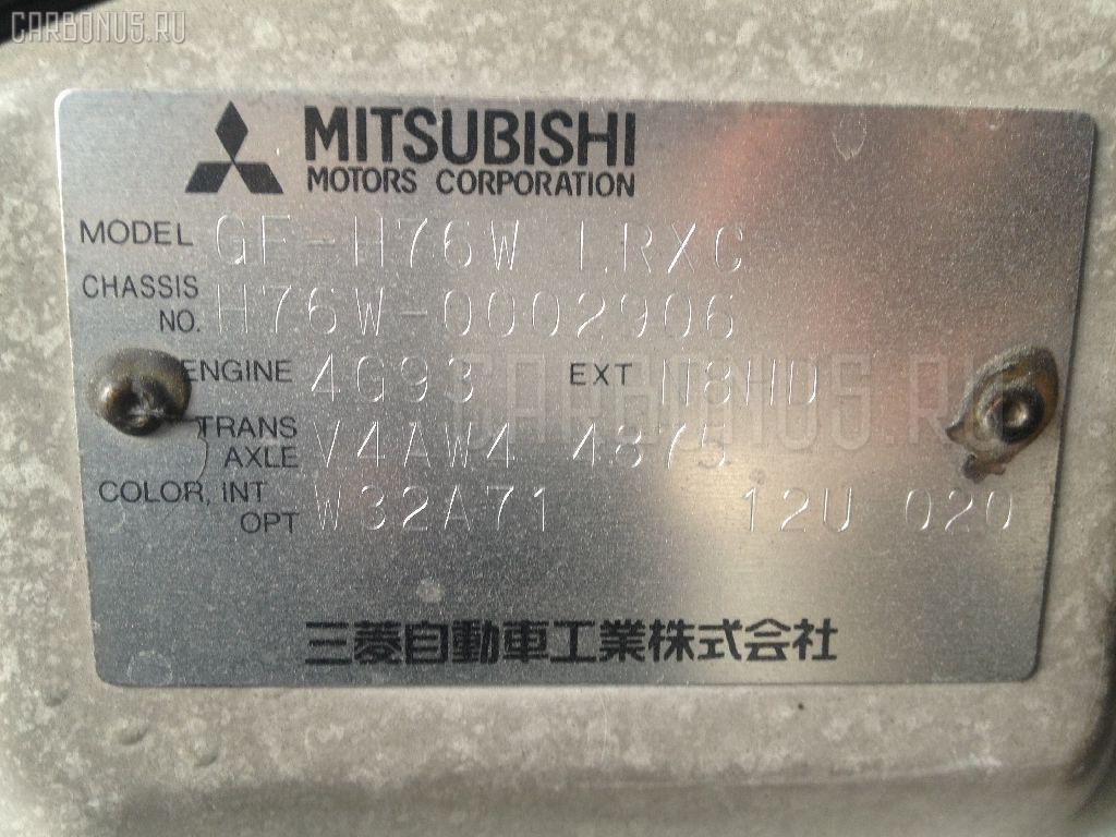 Дверь боковая MITSUBISHI PAJERO IO H76W Фото 3