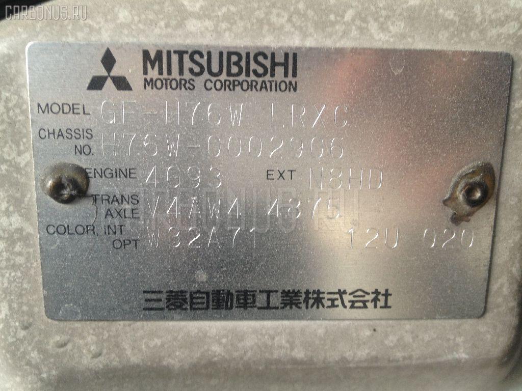 Стойка MITSUBISHI PAJERO IO H76W 4G93 Фото 3