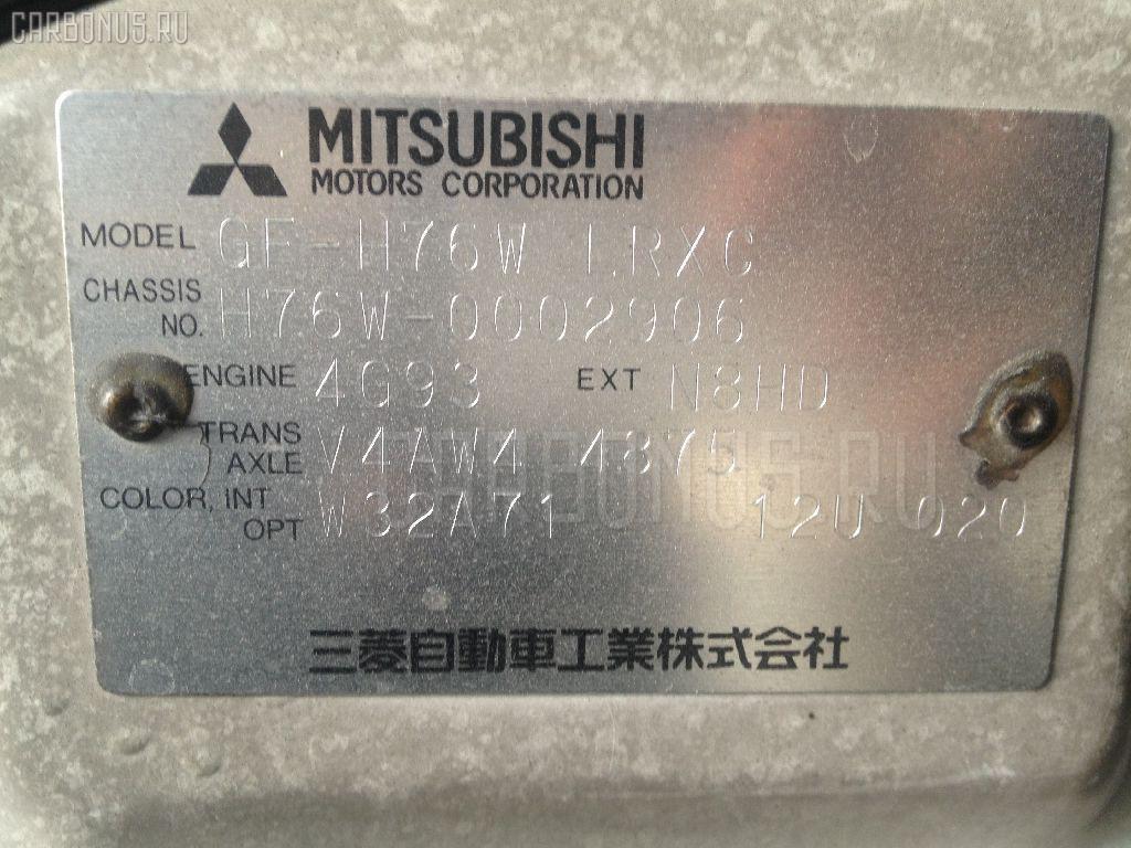 Крепление запасного колеса MITSUBISHI PAJERO IO H76W Фото 2